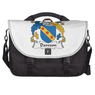Escudo de la familia de Dawson Bolsas De Portátil
