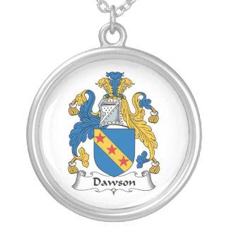 Escudo de la familia de Dawson Collar Personalizado