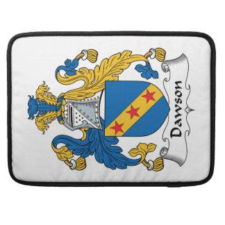 Escudo de la familia de Dawson Fundas Para Macbooks