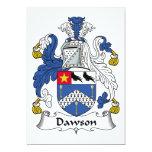 Escudo de la familia de Dawson Anuncios Personalizados