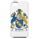 Escudo de la familia de Dawson iPhone 5 Fundas