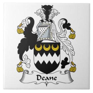 Escudo de la familia de Deane Azulejos Cerámicos