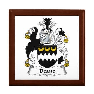 Escudo de la familia de Deane Cajas De Recuerdo