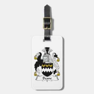 Escudo de la familia de Deane Etiquetas Para Maletas
