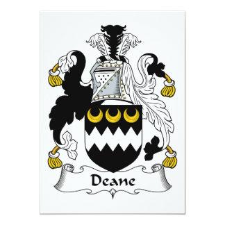Escudo de la familia de Deane Comunicado Personal