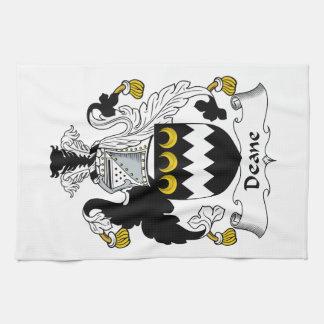 Escudo de la familia de Deane Toallas