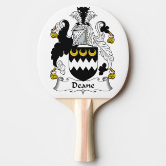Escudo de la familia de Deane Pala De Ping Pong