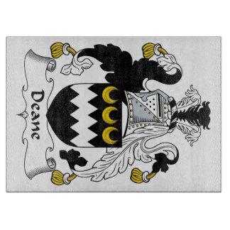 Escudo de la familia de Deane Tabla De Cortar