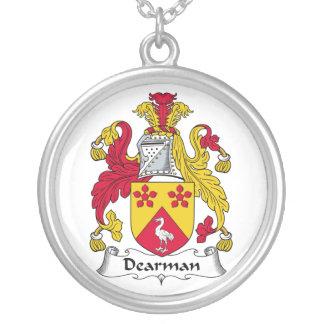 Escudo de la familia de Dearman Colgante Redondo