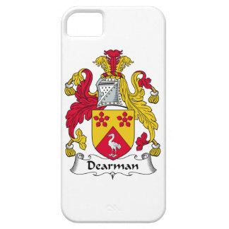 Escudo de la familia de Dearman Funda Para iPhone 5 Barely There