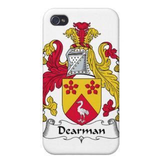 Escudo de la familia de Dearman iPhone 4/4S Carcasa