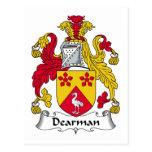 Escudo de la familia de Dearman Postal