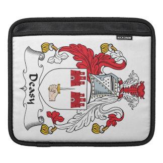 Escudo de la familia de Deasy Fundas Para iPads