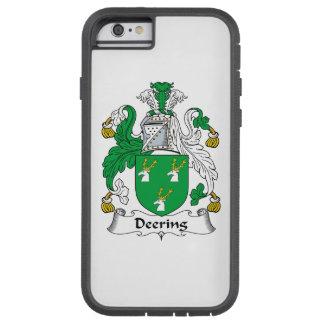 Escudo de la familia de Deering Funda De iPhone 6 Tough Xtreme