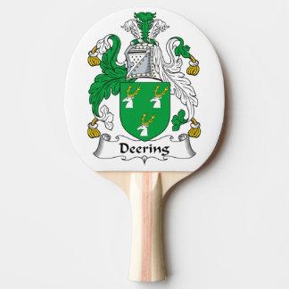 Escudo de la familia de Deering Pala De Tenis De Mesa