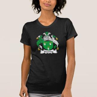 Escudo de la familia de Deering Camisetas