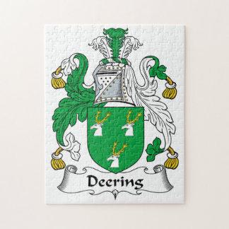 Escudo de la familia de Deering Puzzles Con Fotos
