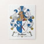 Escudo de la familia de Deffner Puzzle