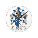 Escudo de la familia de Deffner Relojes