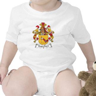 Escudo de la familia de Degenhart Camisetas