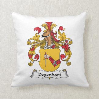 Escudo de la familia de Degenhart Cojin