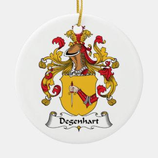 Escudo de la familia de Degenhart Ornamente De Reyes
