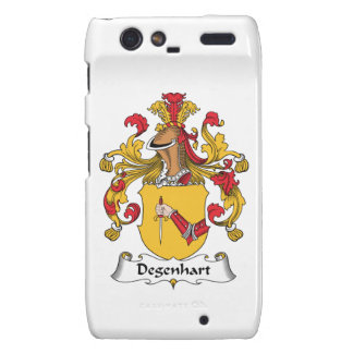 Escudo de la familia de Degenhart Motorola Droid RAZR Carcasa