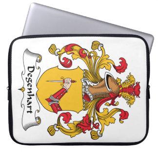 Escudo de la familia de Degenhart Funda Ordendadores