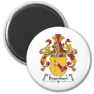 Escudo de la familia de Degenhart Imán De Nevera