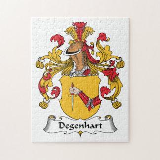 Escudo de la familia de Degenhart Puzzle Con Fotos