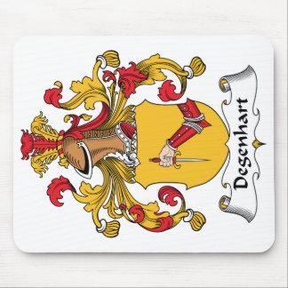 Escudo de la familia de Degenhart Tapetes De Raton