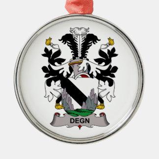 Escudo de la familia de Degn Ornamentos Para Reyes Magos