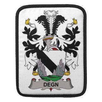 Escudo de la familia de Degn Fundas Para iPads