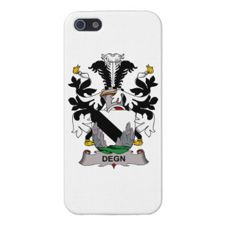 Escudo de la familia de Degn iPhone 5 Cárcasa