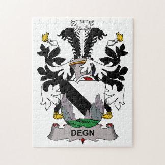 Escudo de la familia de Degn Rompecabezas