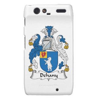 Escudo de la familia de Dehany Droid RAZR Fundas