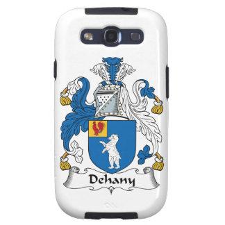 Escudo de la familia de Dehany Galaxy S3 Carcasa