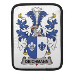 Escudo de la familia de Deichmann Fundas Para iPads
