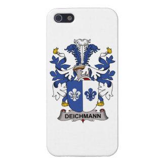 Escudo de la familia de Deichmann iPhone 5 Carcasas