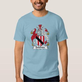 Escudo de la familia de Delahyde Camisas