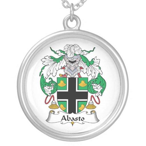 Escudo de la familia de Delfin Pendiente Personalizado