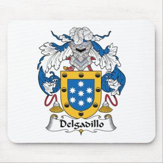 Escudo de la familia de Delgadillo Mouse Pad