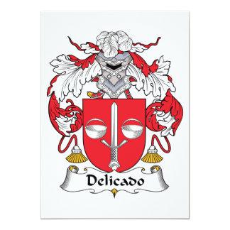 Escudo de la familia de Delicado Comunicado Personalizado