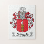 Escudo de la familia de Delvecchio Puzzle Con Fotos