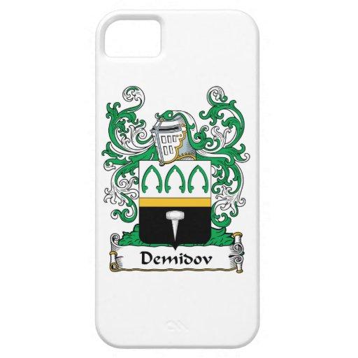 Escudo de la familia de Demidov iPhone 5 Carcasa