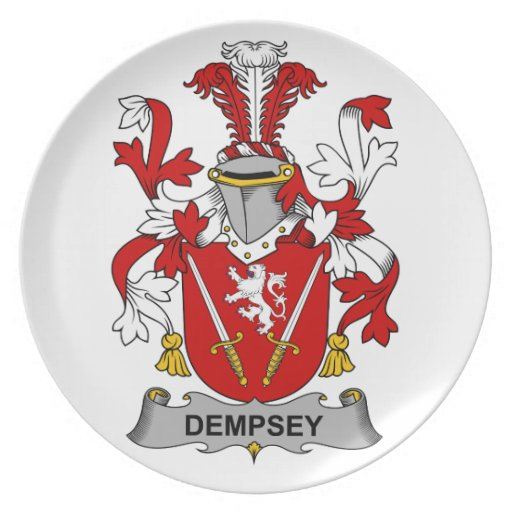 Escudo de la familia de Dempsey Plato