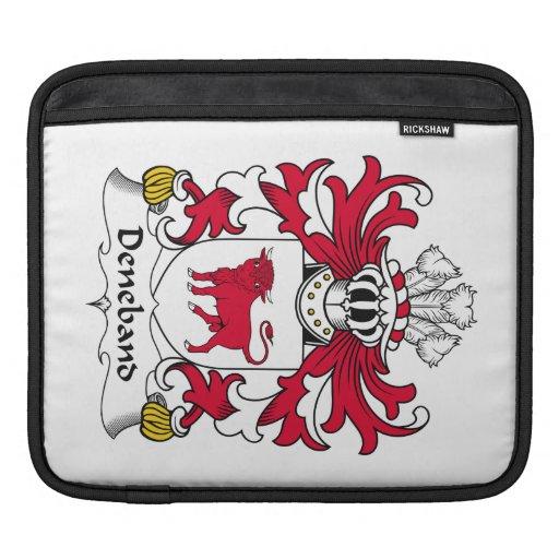 Escudo de la familia de Deneband Fundas Para iPads
