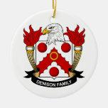 Escudo de la familia de Denison Adorno