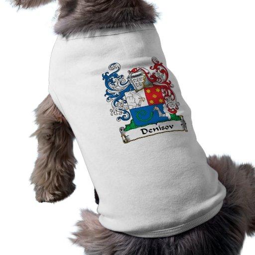 Escudo de la familia de Denisov Ropa Perro
