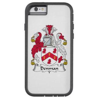 Escudo de la familia de Denman Funda De iPhone 6 Tough Xtreme
